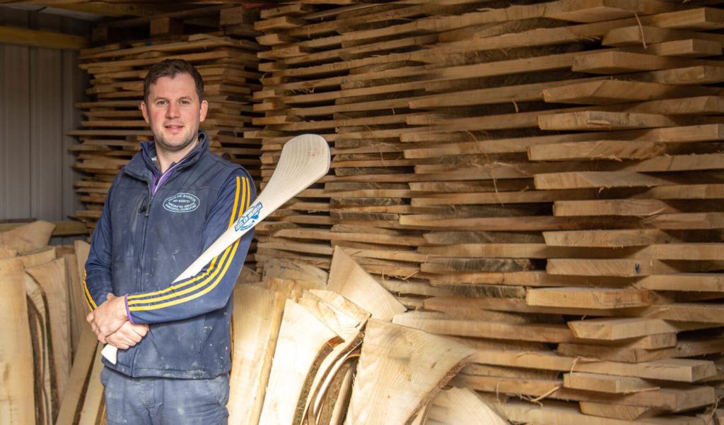 Declan Barron - Irish hurley maker Ireland